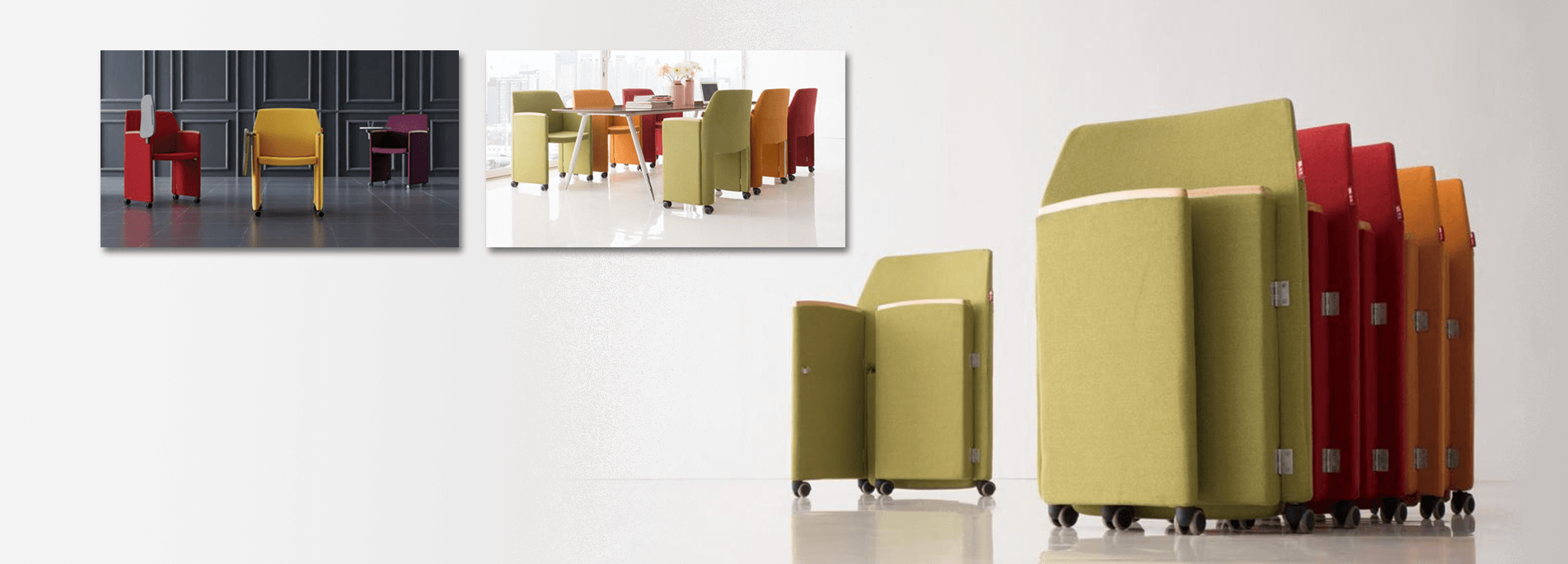 Foldable Seats for better Space Management